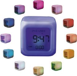 Aurora Colour Changing Clock