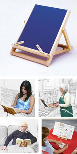 Book Chair Reading Stand Mini
