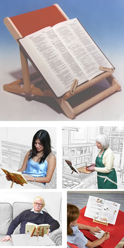 Book Chair Reading Stand Medium