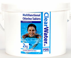 Clearwater 200g chlorine tablets x 10