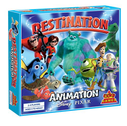 Destination Animation. Disney Pixar