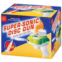 Super Sonic Foam Disc Gun