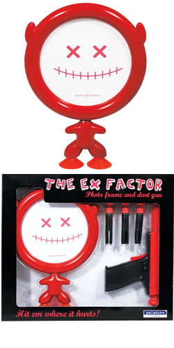 Ex Factor Photo Frame and Dart Gun
