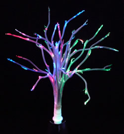 Fibre Optic Colour Changing Tree
