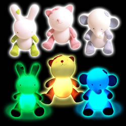 Colour Changing Glow Pets