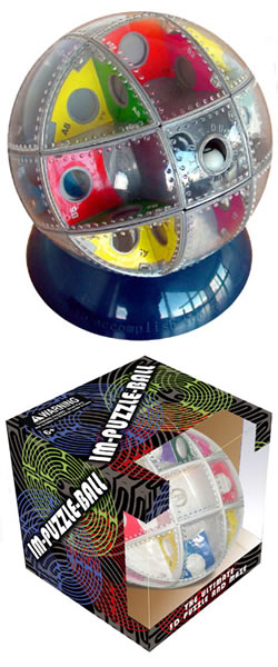 IM 3D Puzzle and Maze Ball