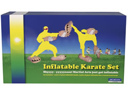 Inflatable Karate Set