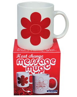 Message Changing Love Mug