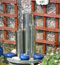 Melissa Stainless Tubes Water Feature