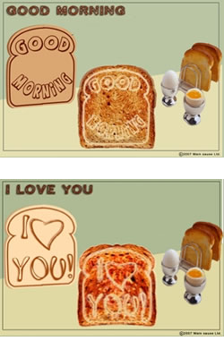Mood Toast Stamp