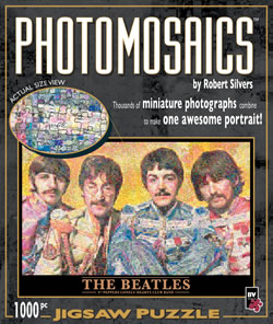 Photomosaic The Beatles Puzzle