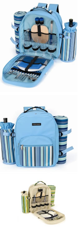 4 Person Picnic Cooler Rucksack