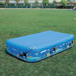 Pool Cover For Bestway  Rectangle Family Paddling Pool 10  X 6 FT