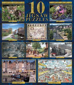 10 Pack Jigsaw Puzzles