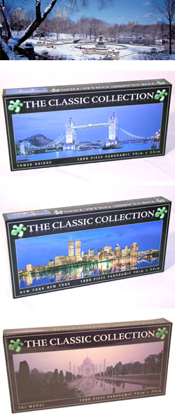 Classic Cities Jigsaw Puzzle Collection