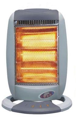 Remote Control Halogen Heater