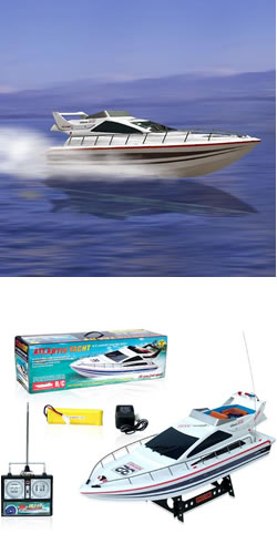 RC Atlantic Yacht Speed Boat