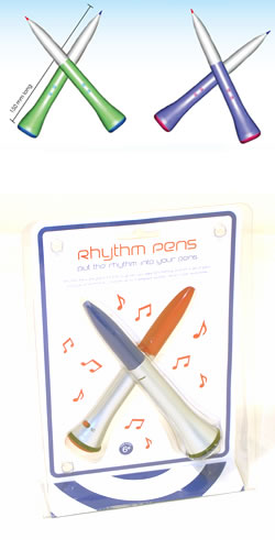 Rhythm Drum Stick Pens