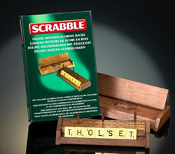 Scrabble Tile Scoring Racks