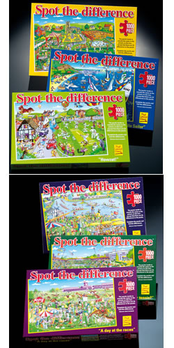 Spot The Difference 1000 Piece Puzzle