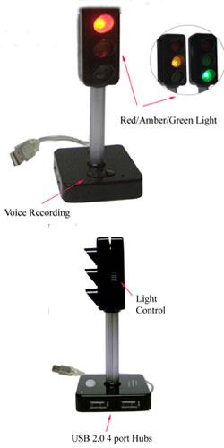 USB Desktop Traffic Light