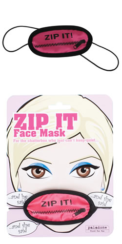The Zip It Face Mask